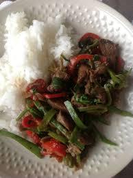 cuisiner pois gourmand wok de porc aux pois gourmands ma p tite cuisine