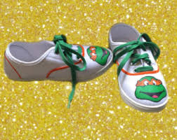 ninja turtles toms etsy