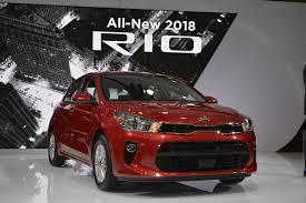 kia rio 2018 kia rio sedan u0026 5 door make u s debut in new york