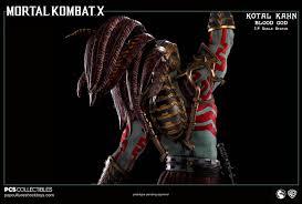 Syria Culture Shock Website by Kotal Kahn Blood God 1 4 Scale Statue Mortal Kombat X 1 4 Scale