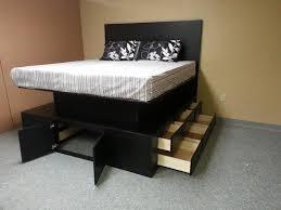 Building Platform Bed Platform Bed Drawers Bonners Furniture