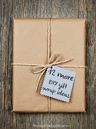 Ideas To Wrap A Gift - more great diy gift wrap ideas andrea u0027s notebook