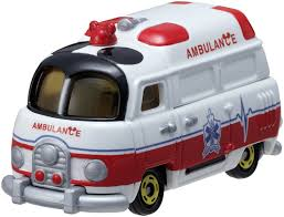 tomica mitsubishi triton tomica disney motors mickey mouse ambulance dm31 ส นค าล ขส ทธ