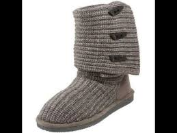 sweater boots bearpaw knit 658w s sweater boots