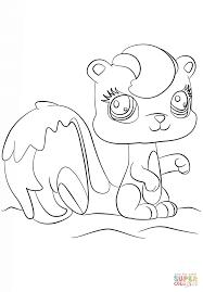 desenho de littlest pet shop esquilo para colorir desenhos para