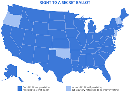 Where Is Pennsylvania On The Map by The Secret Ballot At Risk Recommendations For Protecting Democracy