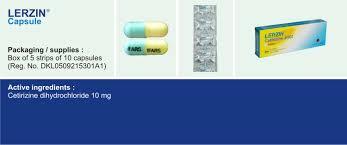Obat Cetirizine 10 Mg pt ifars pharmaceutical laboratories