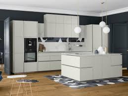 cuisine blanc mat sans poign poigne cuisine moderne great amazing classique indmodable avec des