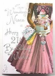 to a wonderful niece happy 21st birthday wishes lovely 21