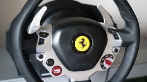 458 italia thrustmaster thrustmaster tx racing wheel 458 italia edition review