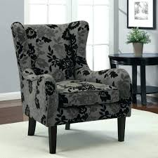 wingback chair slipcovers grey wing chair slipcover gray chair m black and gray velvet fabric