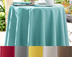 nappe ronde enduite 160 protège table standard ou luxe becquet