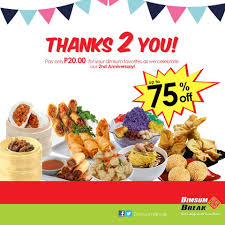 dimsum break gaisano mall of davao home davao city menu