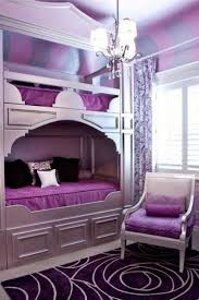 Little Girls Chandelier Bedroom Fabulous Purple Bedroom Ideas With Enthralling Small