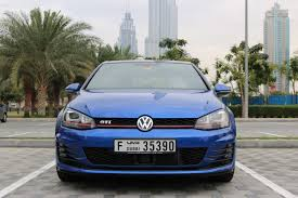 volkswagen gti blue slideshow vw golf gti review