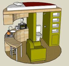 Fine Concrete Tiny House Plans Two Bedrooms Rectangular - Tiny home designs