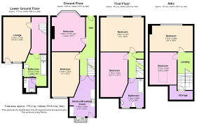 modern kitchen design rendered floor plan prismacolor pencil ad
