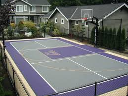 Backyard Sport Courts by 125 Best Sport Court Images On Pinterest Backyard Basketball