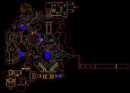Map Of The Dead Pc Doom Ii No Rest For The Living Level 3 Canyon Of The Dead
