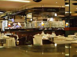 la cuisine lyon la cuisine vu depuis la salle picture of brasserie l est lyon