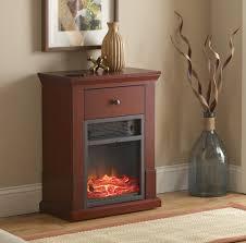 fingerhut mcleland design easton compact electric fireplace heater