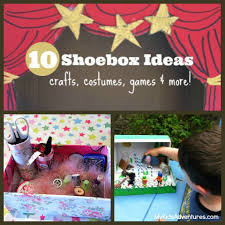 How To Decorate A Shoebox 10 Fun Shoebox Projects To Do With Your Kids My Kids U0027 Adventures