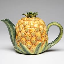 Pineapple Decorations For Kitchen by Pineapple Country Kitchen Fruit Teapot Vintage Style Decor