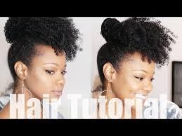 youtube crochet hairstyles on thinning hair crochet braid no braid curly updo natural hair tutorial fine