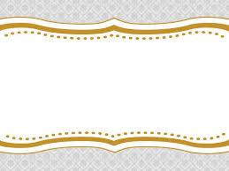 decorative frame powerpoint templates border u0026 frames yellow