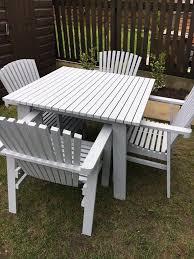 stunning sundero grey wooden garden furniture made in sweden for