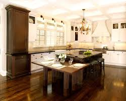 Wooden Kitchen Table by Light Wood Cabinets Others Extraordinary Home Design