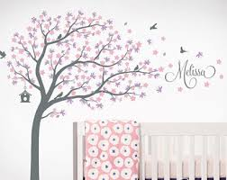 removable wall decals name monograms trees by surfaceinspired