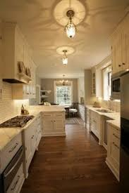 Small Galley Kitchen Designs Galley Kitchen With Bar Possible Kitchen Update Check Out