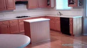 Corian Kitchen Benchtops Resurfacing Corian Kitchen Countertops Youtube