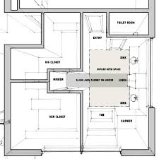 his and bathroom floor plans master bathroom prison toilets of an architect