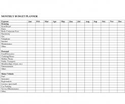 wonderful monthly budget template monthly budget template monthly