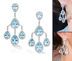 pagoda earrings kate robinson pelham pagoda blue topaz diamonds earrings sceptre