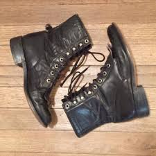 womens black combat boots size 9 best 90s combat boots products on wanelo