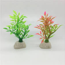 artificial decorative trees for the home 10pcs mini colourful trees plastic leaves home school teaching