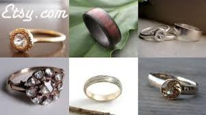 non metal wedding bands green wedding guide eco wedding rings inhabitat green design