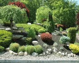 Lava Rock Garden Uncategorized Rock Lawn Ideas Inside Lovely Rock Lawn Ideas