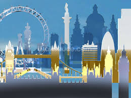 Football Wall Murals by London Skyline Illustration Wallpaper Wall Mural Wallsauce