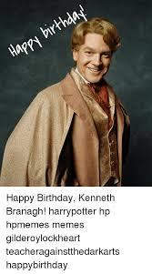 Kenneth Meme - happy birthda happy birthday kenneth branagh harrypotter hp hpmemes