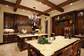 Plantation Homes Interior Design Kitchen Kitchen In Spanish Style For Completing Your Natural Home