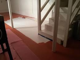 flooring basement painted vinyl basement floor hometalk