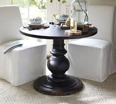 30 round pedestal table awesome dawson large pedestal table pottery barn inside 30 round