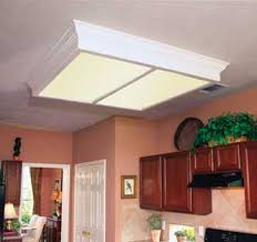 Kitchen Fluorescent Lighting by Baroque Led Puck Lights In Kitchen With Replacing Fluorescent