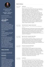 library resume sample i template template killer librarian