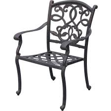darlee santa 7 piece cast aluminum patio dining set with
