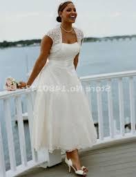 plus size lace tea length wedding dresses naf dresses